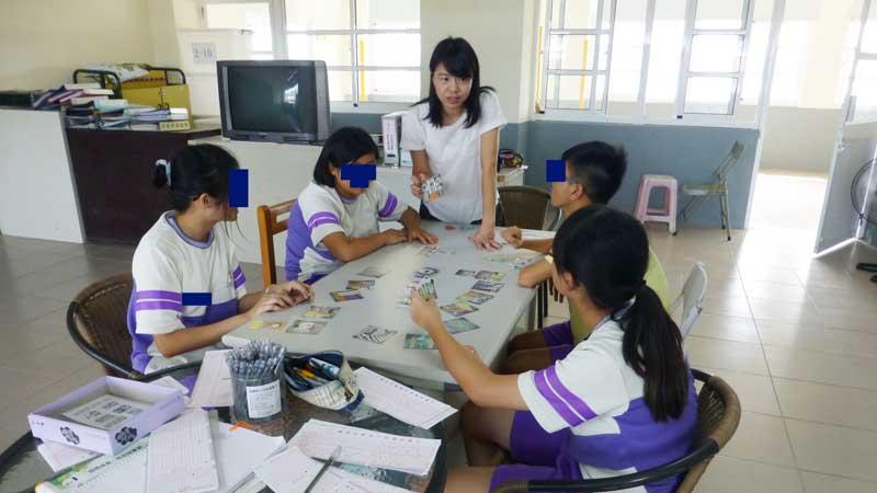 魔法學園高關懷聲桌遊團體活動-大社國中