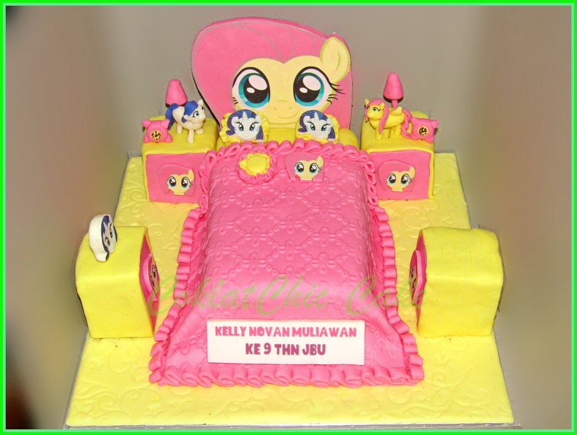 Cake My Little Pony Bedroom KELLY NOVAN 15 cm