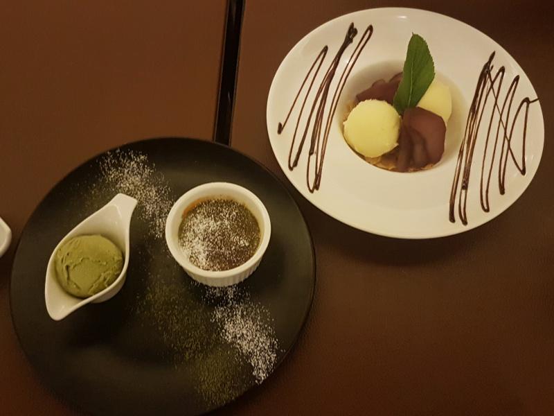 JaBistro desserts