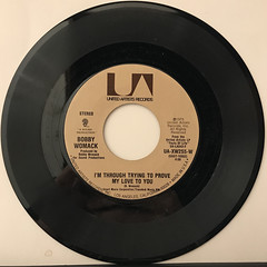 BOBBY WOMACK:NOBODY WANTS YOU WHEN YOU DOWN AND OUT(RECORD SIDE-B)