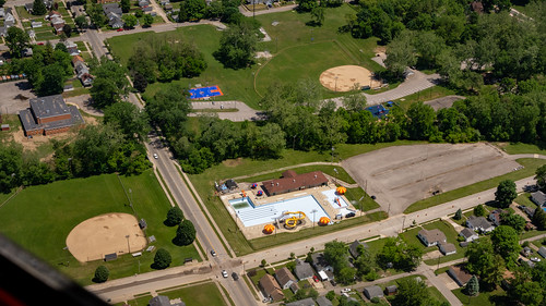 Aerial View of Clear Creek Park