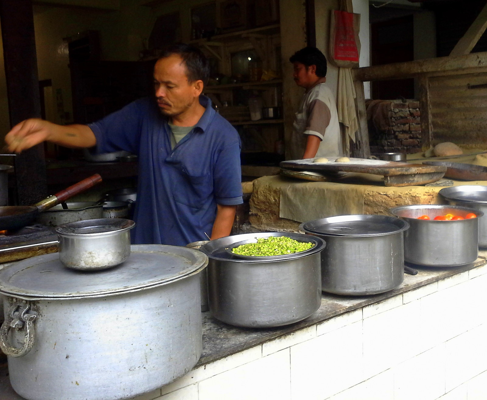 Dhabas can be found all around the uttarakhand prayags