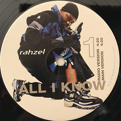 RAHZEL:ALL I KNOW(LABEL SIDE-A)