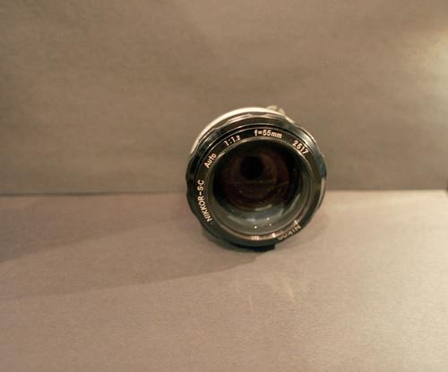 NIkkor S.C. 55mm ƒ 1.2 7-17