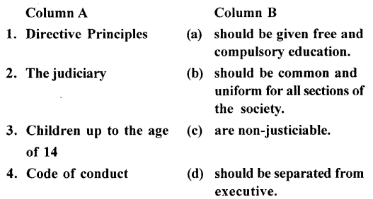 ICSE Solutions for Class 7 History and Civics - Directive