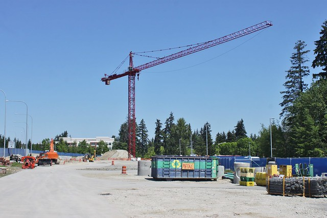 Overlake TC construction