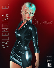 Valentina E. Dahlia Dress For 50 L Fridays!