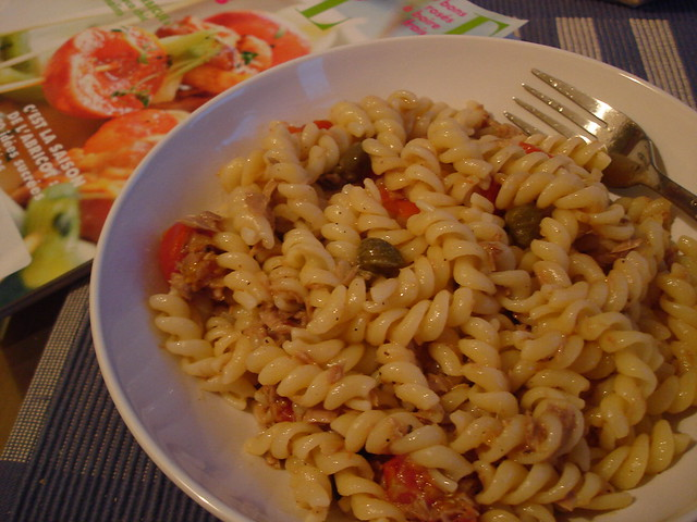 Pasta with Tuna, Tomato and Capers | Flickr - Photo Sharing!