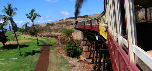 maui sugarcane train