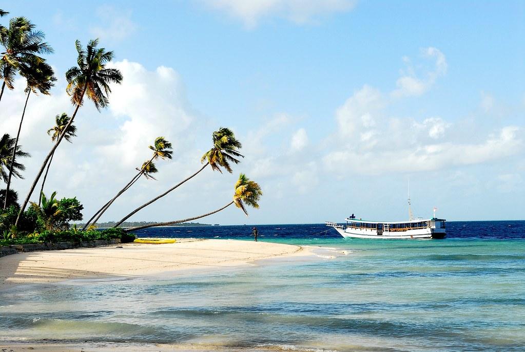 Wakatobi пляж
