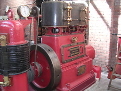 High speed vertical compound steam engine