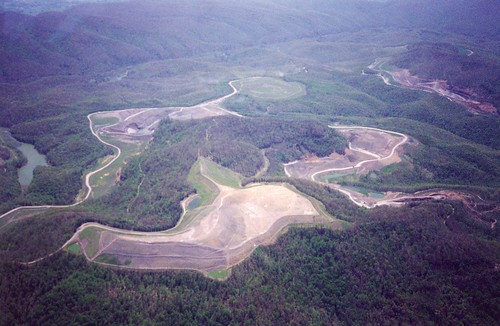 Mountaintop removal site, Claiborne County