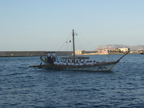 Replica Minoan ship