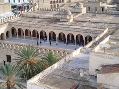 Mosque from Ribat Tower Sousse