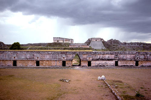 Uxmal in the rain -1985