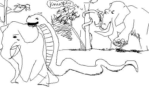 die schlangen (nicht alle) essen elefanten (nicht alle) Flickr ...