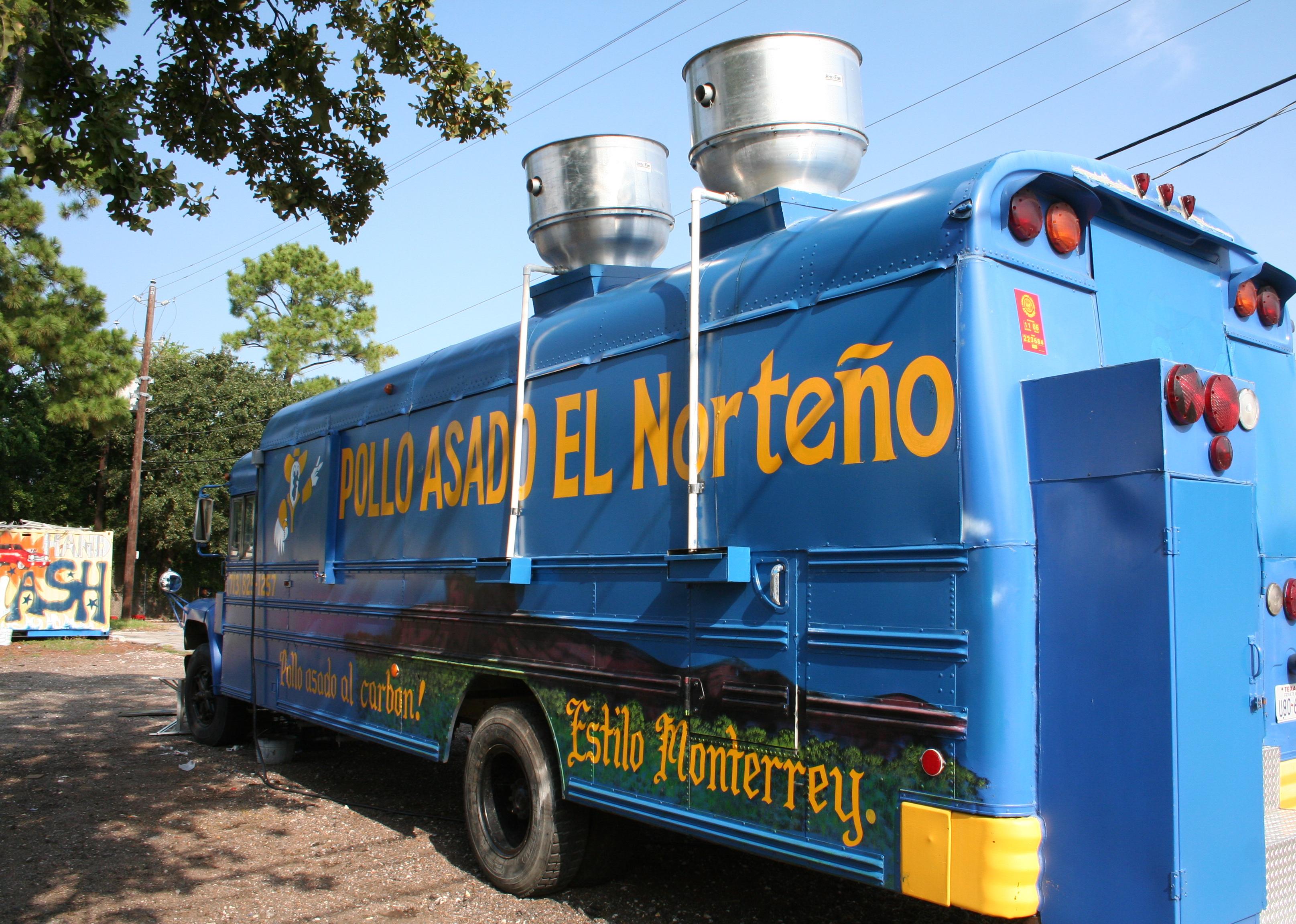 Pollo Food Truck Louisville Menu