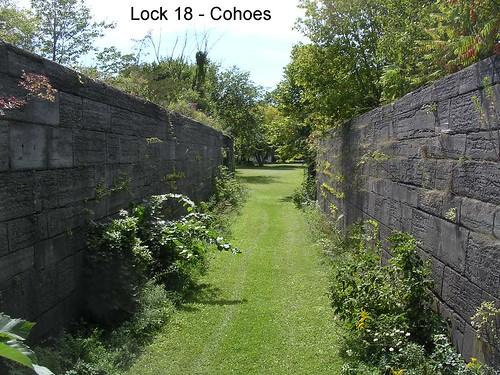 stone canal lock stonework historical locks erie eriecanal cohoes oldlocks olderiecanal lock18