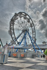 Kemah Ferris Wheel - HDR Revisited