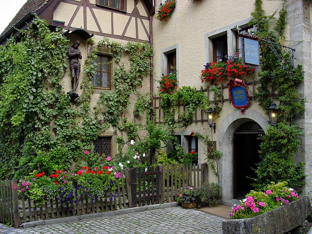 rothenburg ob dem tauber burg hotel flickr photo sharing. Black Bedroom Furniture Sets. Home Design Ideas