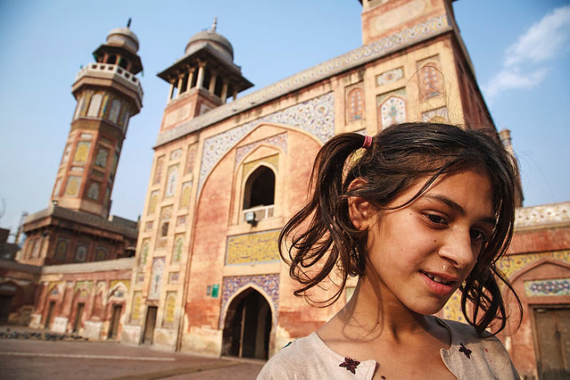 Wazir Khan Mosque portrait - Lahore, Pakistan