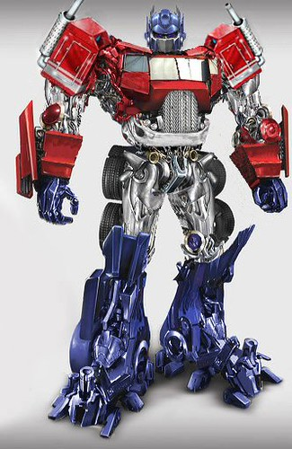 Movie Optimus Prime Fan Art