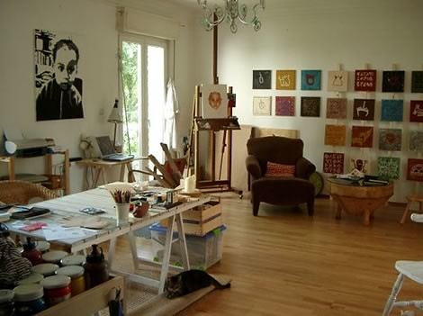 Home office art studio inspiration a gallery on flickr - Home art studio ...