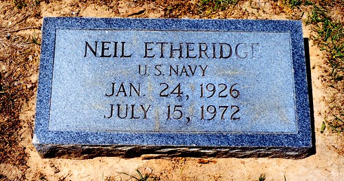 Grave of Neil Etheridge