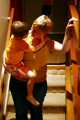 miss sarah taking nick downstairs to bed    mg 1560