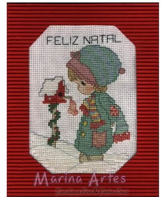 Postal de Natal em Ponto Cruz
