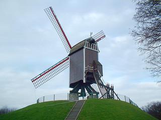 Molen in Brugge