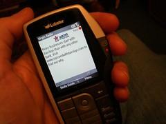 Virgin Mobile Lobster phone - Virgin Radio