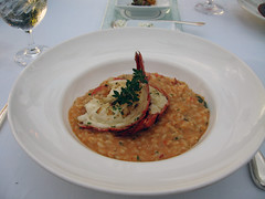 Lobster Risotto as Ferraro's