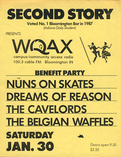Nuns on Skates, Dreams of Reason, The Cavelords, The Belgian Waffles