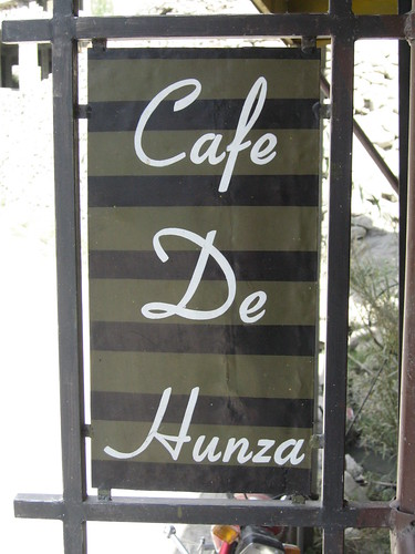 Cafe de Hunza - heaven in a coffee and cake kinda way