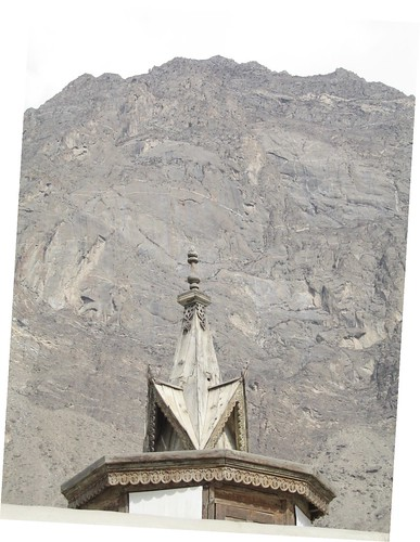 "Ornamental ""spire' Baltit Fort, Karimabad"