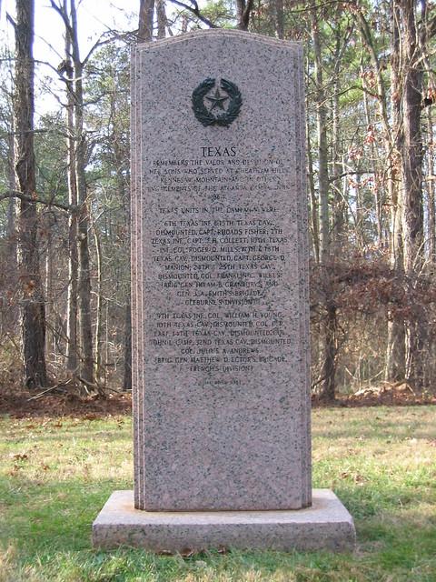 Texas Monument - Kennesaw Battlefield - Kennesaw, GA