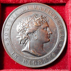 1885 Italy Horticultural Companies Medal obverse