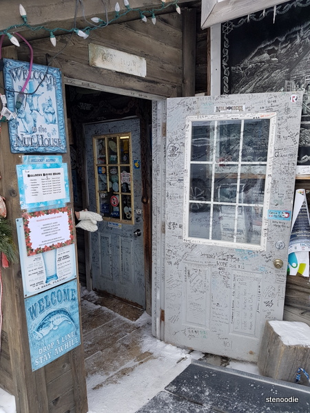 Bullocks Bistro doorway