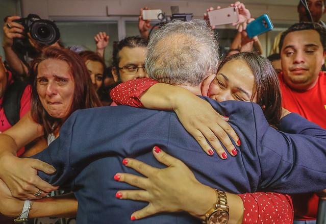 El arresto del líder popular más importante de Brasil está provocando una fuerte conmoción social, en un país ya profundamente dividido  - Créditos: Ricardo Stuckert/Instituto Lula
