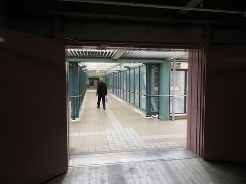 福島競馬場と直結している第一駐車場