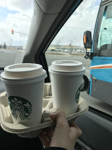 Three cheers for the drive-thru Starbucks in Kingston!