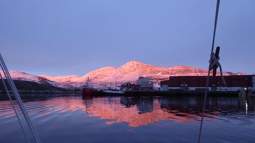 Nuuk Alpenglow