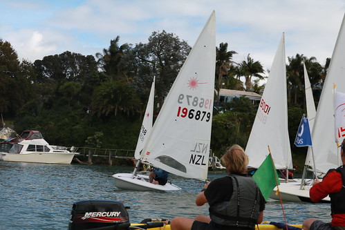 Start - Ian Wallace in patrol boat