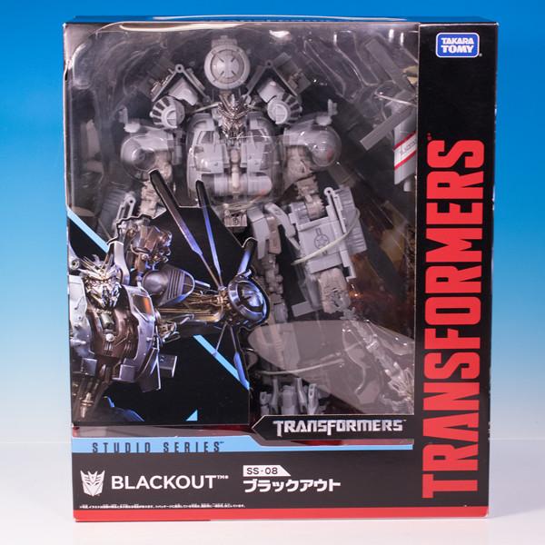 レビュー トランスフォーマー スタジオシリーズ SS-08 ブラックアウト