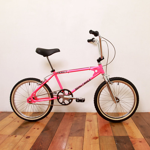 HOW I ROLL / The Roots / 20inch BMX / Pink