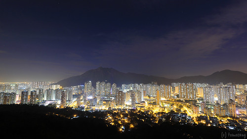 Tuen Mun Trail at Night