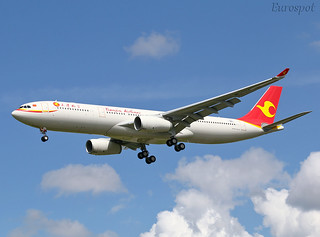 F-WWYD Airbus A330 Tiajin Airlines