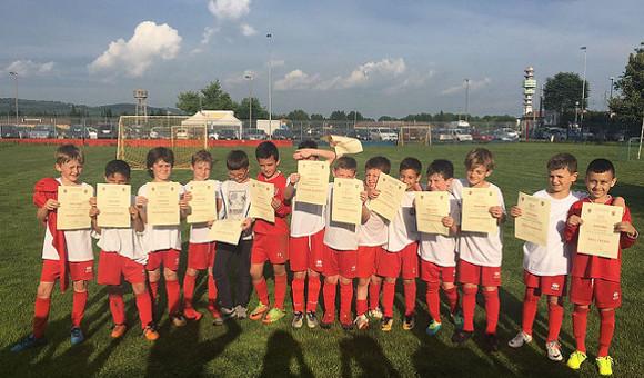 Grande festa con diploma per i ragazzi della Scuola Calcio!