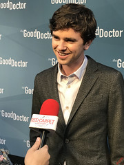 Freddie Highmore at The Good Doctor Season One For Your Consideration Screening Red Carpet Arrivals - IMG_6844